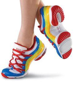 Wave Split-Sole Colorful Dance Sneaker | Bloch