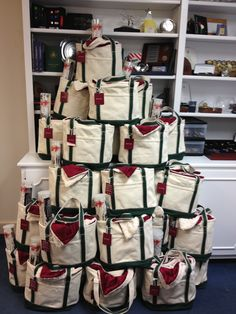 Your clients/employees will warm up to these Personalized Totes with Custom Blankets & Smores Kits @TK Promotions, Inc.