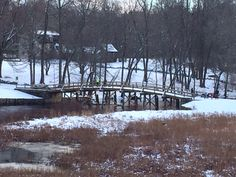 If only there wasn't snow on the ground, this is exactly like the bridge in Bridging the Storm!