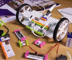 LittleBits introduced the Gizmos & Gadgets kit to appeal to children age 8 and up, and teach them how to build robots, vehicles and simple machines.