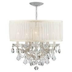 Brentwood Collection Chrome Chandelier CR4415CHSAWCLMWP    Fantastic! LOVE it