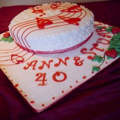 Nice Th Wedding Anniversary Cakes For Historical Moment
