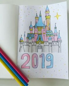 Add a little sparkle of magic to your bullet journal with these 44 beautiful Disney Inspired Bullet Journal Layouts.