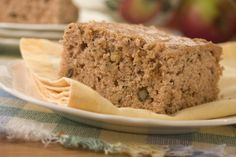 Amish Applesauce Cake Recipe | MrFood.com     I like to take the walnuts and mix with 1 tsp of black walnut extract