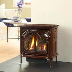 The Jotul GF 200 Lillehammer DV IPI Gas Stove brings Scandinavian charm to your home.  The Jotul Lillehammer is a popular freestanding gas stove.