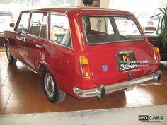 1971 Fiat 124 station wagon rarissima ASI Estate Car