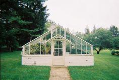 backyard greenhouse // matt blodgett