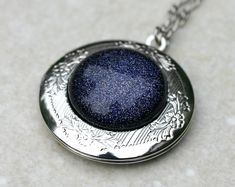 Galaxy Necklace by robinhoodcouture on Etsy, $32.00