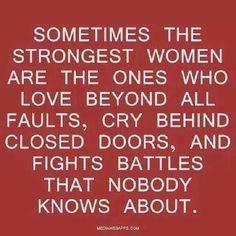 Sterke vrouwen...