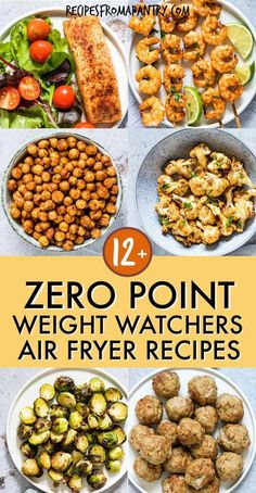 All of the weight watchers air fryer recipes included here are quick and SO easy. - All of the weight watchers air fryer recipes included here are quick and SO easy to make, and even - Air Frier Recipes, Air Fryer Oven Recipes, Air Fryer Dinner Recipes, Air Fryer Recipes Potatoes, Air Fryer Recipes Weight Watchers, Plats Weight Watchers, Weight Watchers Vegetarian, Vegetarian Food, Weight Watchers Reviews