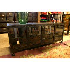 Tv-kast met glasdeur - quip&Co