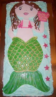 Caketopia: Mermaid Cake