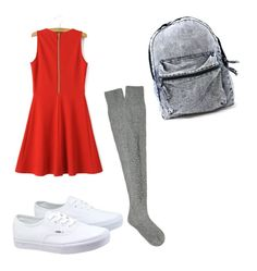"""""""Untitled #52"""" by krazyone101 ❤ liked on Polyvore featuring Barrie and Vans"""
