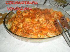 Cozinhaterapia Vovoszinha: espaguete com camarão(Comidas e Receitas ) estou...