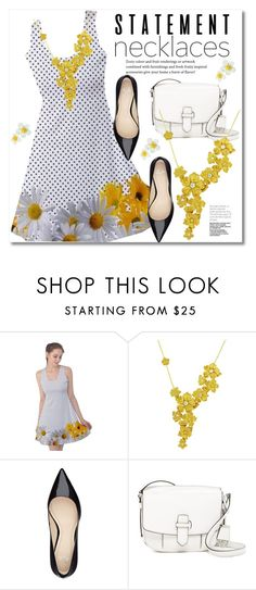 """""""Collared! Statement Necklaces"""" by svijetlana ❤ liked on Polyvore featuring Carrera y Carrera, MICHAEL Michael Kors, polyvoreeditorial, statementnecklaces and spfashion"""