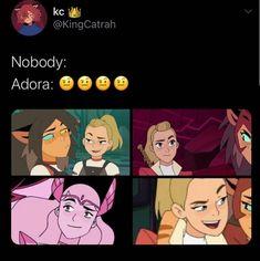 She Ra Desenho, Eyebrow Game, She Ra Princess Of Power, Fandom Memes, Cartoon Games, Stupid Funny Memes, Lesbians, The Last Airbender, Me As A Girlfriend