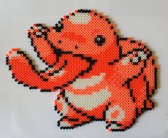 Lickitung in Perler Bead form!