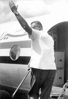 زيارة الزعيم جمال عبد الناصر لدولة تنزانيا