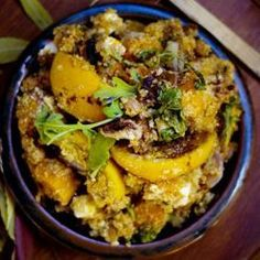 Roast Pumpkin, Orange and Quinoa Salad