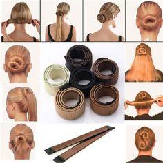 Instant Bun Maker - #1 Solution for the Perfect Hair Bun
