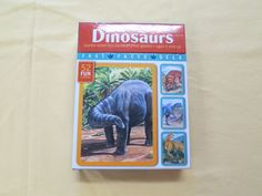 Dinosaurs fact cards - $2