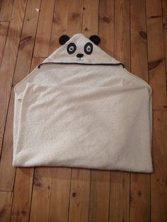 Tuto : La cape de bain panda - Cousu Dodu