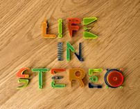 The Pinker Tones: Life in Stereo by Lo Siento , via Behance