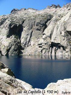 la randonnée des lacs de Melo et Capitello, en Corse.