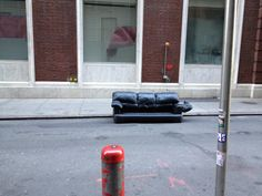 Lonely Couch - Financial District