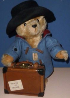 R John Wright Classic Paddington Bear Jacket Hat Suitcase Outfit No Bear | eBay