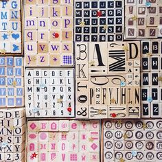 stamps fonts