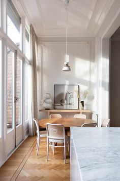 Natural Home Decor An Elegant Townhouse in The Netherlands - The Nordroom.Natural Home Decor An Elegant Townhouse in The Netherlands - The Nordroom Gazebos, Sweet Home, Avenue Design, Corner House, Design Studio, Design Design, Modern Design, Nordic Design, Large Furniture