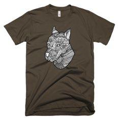 Tribal Pitbull Men's T-Shirt