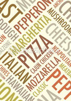 Fundo de pizza — Ilustração de Stock #33499231