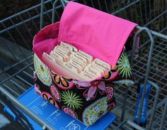 Coupon Organizer Bag coupon purse Carnival by SewDesirable on Etsy, $18.50