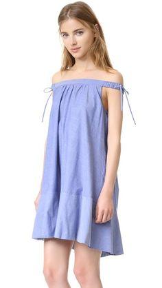 Cynthia Rowley Off Shoulder Swing Dress