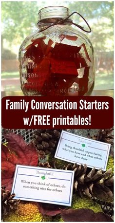Free printable Family Conversation starter vocab cards that teach kids about gratitude, kindness and other life skills! Kids Learning Activities, Fun Learning, Family Activities, Free Printable Cards, Free Printables, Child Guidance, Online Book Club, Conversation Starters, Kids Cards