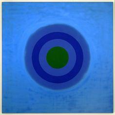 Kenneth Noland - Mysteries: Night Green