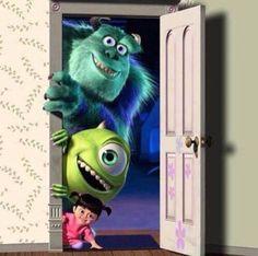 Monsters inc boo, disney monsters, disney pixar, Monsters Inc Boo, Mike From Monsters Inc, Disney Monsters, Cartoon Wallpaper, Disney Phone Wallpaper, Disney And More, Disney Love, Disney Art, Disney Magic