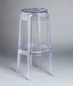 Mirage Bar stool, clear