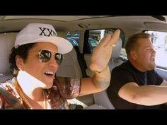Bruno Mars shines in Carpool Karaoke