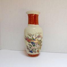 Vintage Satsuma Vase UCGC Japan by FairfaxDavis on Etsy, $30.00