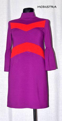Angeli / Úpletové šaty/tunika v aktuálnej farbe Bell Sleeves, Bell Sleeve Top, Angles, Dresses With Sleeves, Long Sleeve, How To Make, Tops, Women, Fashion