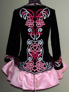 Kirations Irish Dance Solo Dress Costume -- back --