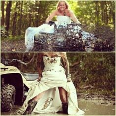 Trash the dress photo ideas.