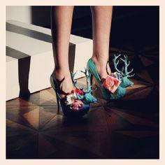 ANA LJUBINKOVIC deer shoes #ana_ljubinkovic