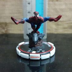 Jual beli Miniatur Spiderman 069 Veteran Critical Mass Marvel Heroclix WizKids RARE di Lapak idStoreplus - idstoreplus. Menjual Static Figure - PAJANGAN UNIK KOLEKSI MAINAN MINI FIGURE Miniatur Spiderman 069 Veteran Critical Mass Marvel Heroclix WizKids RARE