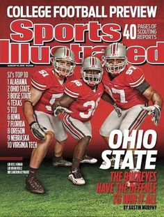 Buckeyes Football, Ohio State Football, Ohio State University, Ohio State Buckeyes, Sports Illustrated Covers, Nebraska State, Sports Memes, Sport Motivation, Amritsar