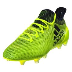 2c783a62b153 adidas X 17.1 FG Mens Soccer Cleats (Solar Yellow)