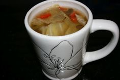 Cabbage soup diet crockpot style. I have tried this soup to just eat for a few days.  and I really liked it. It's a delicious soup, whether detoxing or not.